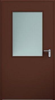 Drzwi ECO przeszklenie 03