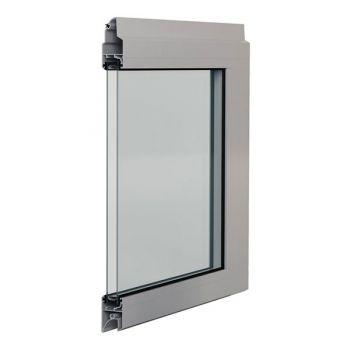 Panel aluminiowy z podwójną szybą
