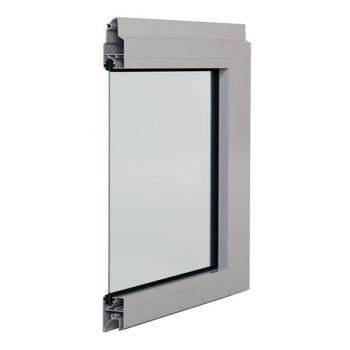 Panel aluminiowy z pojedynczą szybą