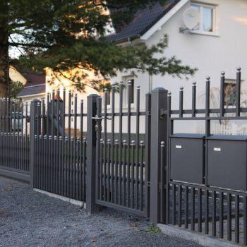 Realizacje ogrodzeń z kolekcji Premium Wiśniowski